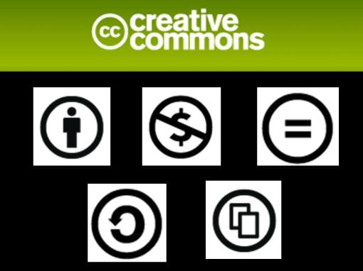 Symbole Creative Commons