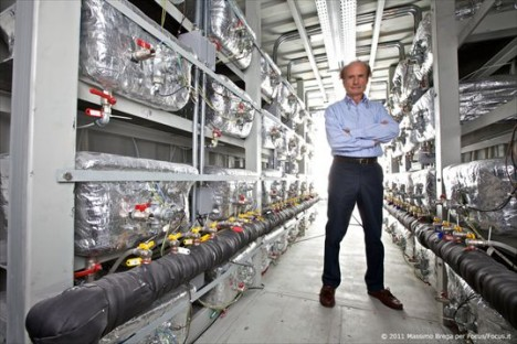 Pionier auf dem Gebiet der Kalten Fusion: Andrea Rossi und sein E-Cat (Foto: Massimo Brega)