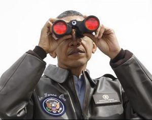 Obama-Fernglas